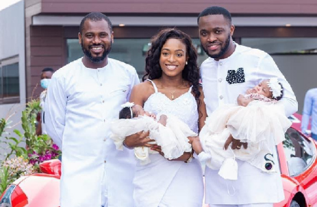 PHOTOS: Despite's son and wife flaunt their beautiful twins
