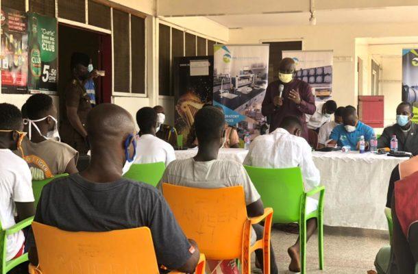 15 inmates at Sekondi Prisons set free