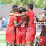 Away happy Kotoko smash Karela United at CAM Park  to go top