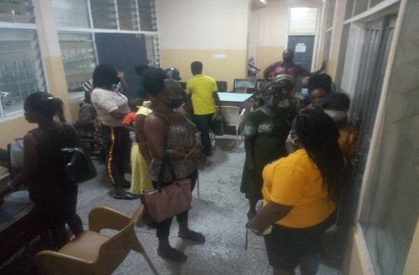 New Juabeng South MCE supports Koforidua fire victims with cash donations
