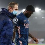 Thomas Partey hobbles off injured in Arsenal's loss to Aston Villa