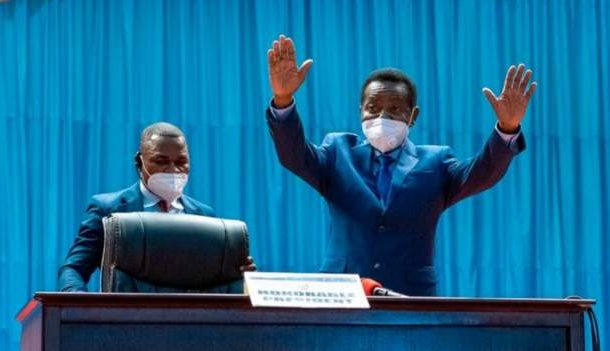 DR Congo Parliament elects president's ally as speaker