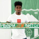 Ex-Amidaus forward Prince Amponsah joins Macedonian side FK Pelister