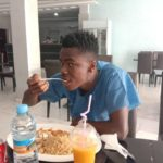 Black Satellites midfielder Sampson Agyepong rejoins team after being discharged from hospital
