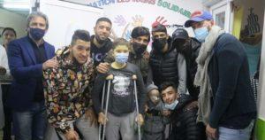 PHOTOS: ES Setif visits children with cancer ahead of Kotoko clash