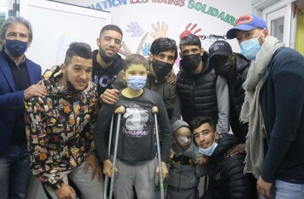 PHOTOS: ES Setif visits children with cancer ahead of Kotoko clash