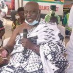 Work harder, don't depend on gov't officials - Suhum chief to the youth
