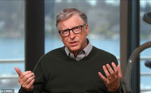 Bill Gates predicts that the World won't return to normal until the END of 2022