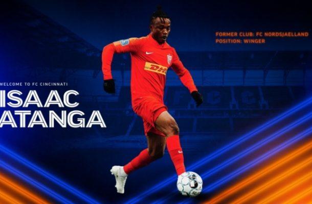 FC Nordsjaelland's Isaac Atanga joins FC Cincinnati