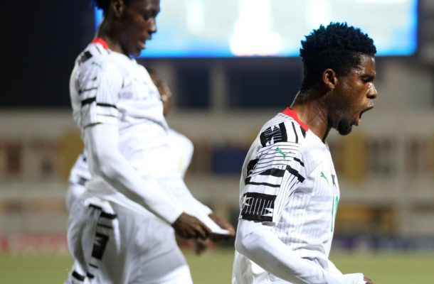 VIDEO: Watch highlights of Ghana's 2-0 victory over Uganda in AFCON U-20 finals