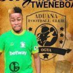 OFFICIAL: Former Elmina Sharks forward Benjamin Tweneboah joins Aduana Stars