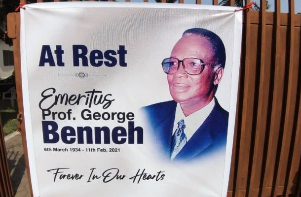 PHOTOS: President Akufo-Addo, others mourn late Prof George Benneh