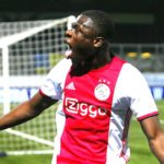 Brian Brobbey scores in Ajax's Europe League win over Young Boys