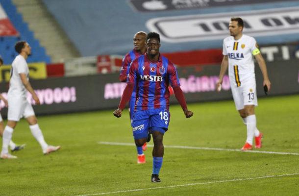 Trabzonspor set asking price for in demand Caleb Ekuban