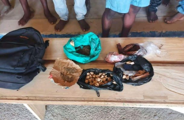PHOTOS: 156 suspected criminals arrested in police swoop in Accra
