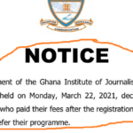 GIJ asks students to defer courses for paying fees late