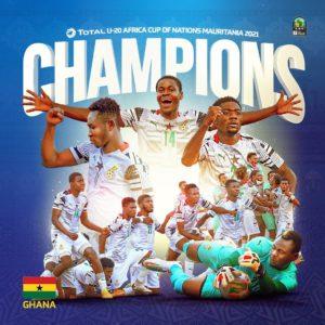 Afriyie Barnie's brace enough as Ghana wins 4th AFCON U-20 title