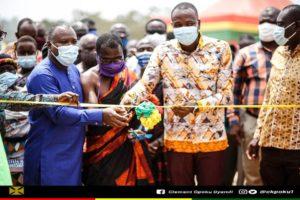 A/R: Amansie South DCE, Clement Gyamfi touts developmental projects