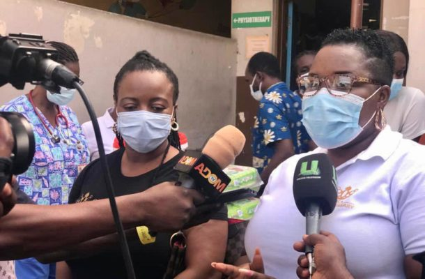 Sisters Keepers Association donates to Princess Marie Children Hospital in Accra