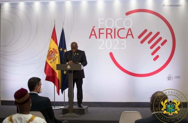 """Business oppotunities from AfCFTA enermous"" - Akufo-Addo to Spanish gov't"