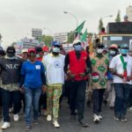 Nigerian unions stage protests over minimum wage