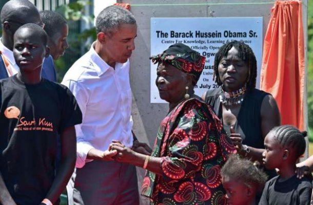 Obama's Kenyan step-grandmother dies