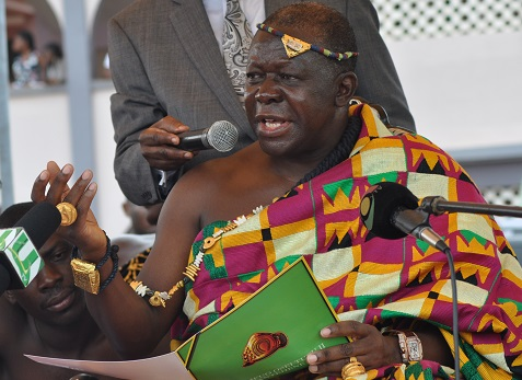 Otumfuo exposes Jinapor, Simon Osei Mensah for trying to be diplomatic about galamsey?