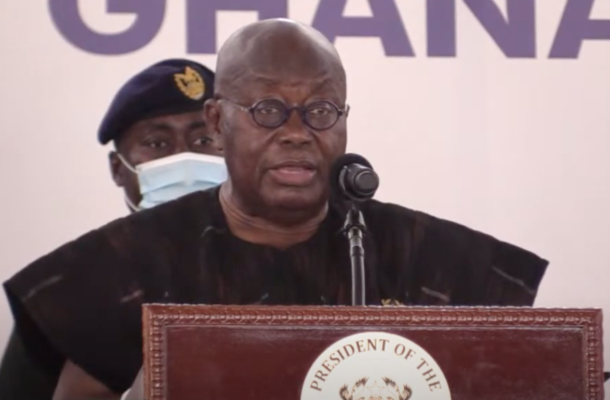 You're retired; go home, I wish you well – Akufo-Addo to Domelevo