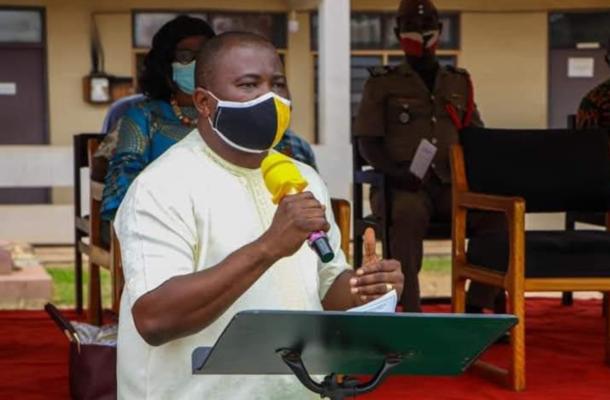 Alexander Akwasi Acquah outdoors development committees in Akyem Oda