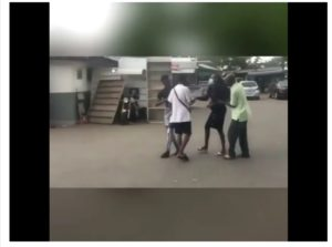 VIDEO: Pregnant girl storms UG, publicly harass estranged boyfriend over refusal to take responsibility