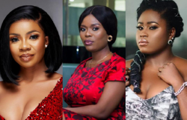 Serwaa Amihere, other 4 Ghanaian female celebrities who have been 'single-shamed'