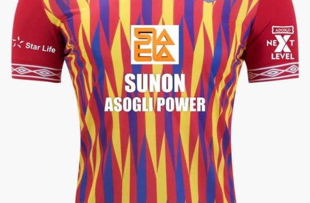 Hearts reveal Sunon Asogli sponsorship deal is worth $200,000 for one year