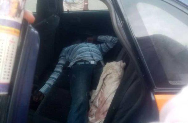 E/R: Taxi driver found dead inside his car at Bremang