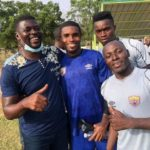 PHOTOS: New Hearts coach Samuel Boadu meets players for the first time