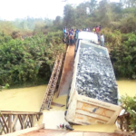 Bridge over River Mamieso collapses