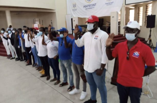 Be active in politics - Salem Mustapha charges TESCON-Pentecost University