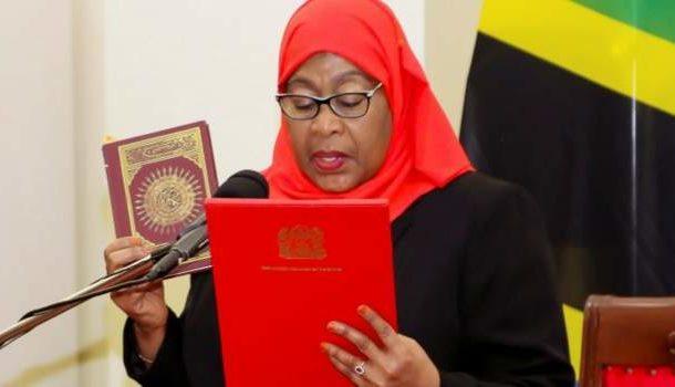 Samia Suluhu Hassan becomes Tanzania's new president