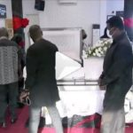 Mourners cry uncontrollably at Home Sweet Home's Kojo Dadson's funeral