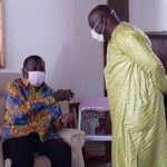 Eastern Regional Minister pays courtesy call on Daasebre Oti Boateng
