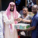 Eugene Arhin donates desks, assorted items to Bawjiase, Awutu Senya Muslim communities