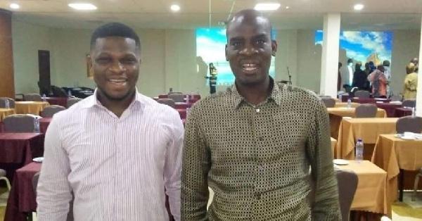 Sammy Gyamfi reconciles with Minority leader