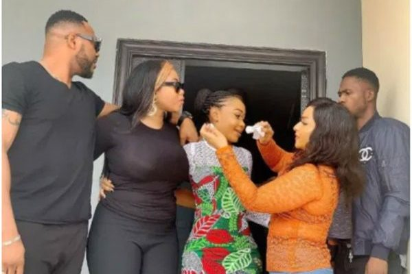 Top Nigerian Celebrities Compose Victory Song For Akuapem Poloo