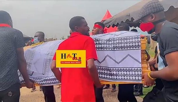PHOTOS: Deceased Hot FM Sports Journalist Bigality buried in Wenchi