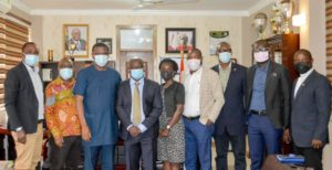 Sports Minister meets SWAG leadership