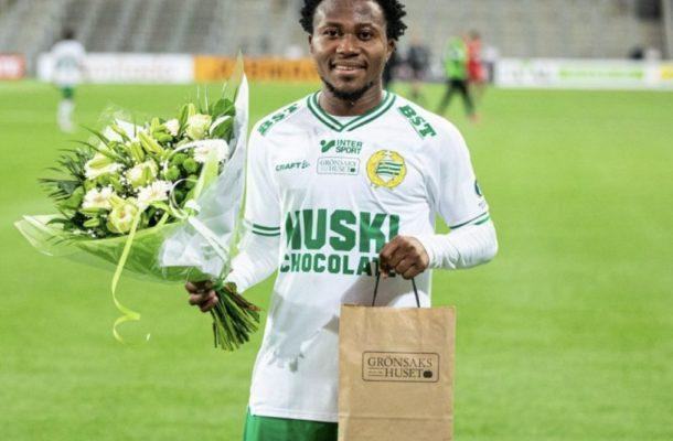 Abdul Halik Hudu named man of the match in Hammarby win over Trelleborg