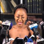 Akuapem Poloo breaks down into tears while addressing media after 'prison' encounter