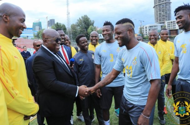 Gyan commends President Akufo-Addo for $25m Black Stars budget
