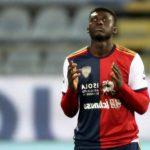 Alfred Duncan bids goodbye to Cagliari