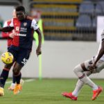 Cagliari's Alfred Duncan shows class despite being racially abused