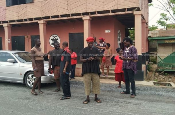 Killing of 11-year-old: Amanase residents try to burn shrine of arrested priestess